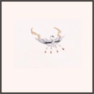 鶴の鳴き声<ネックレス>