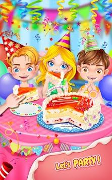 Sweet Birthday Cake Maker Poster