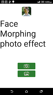 Face Morphing photo effect - náhled