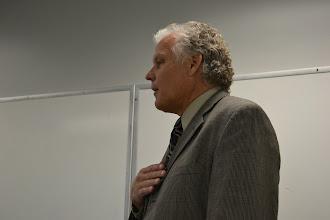Photo: Gary Jones providing an introduction.