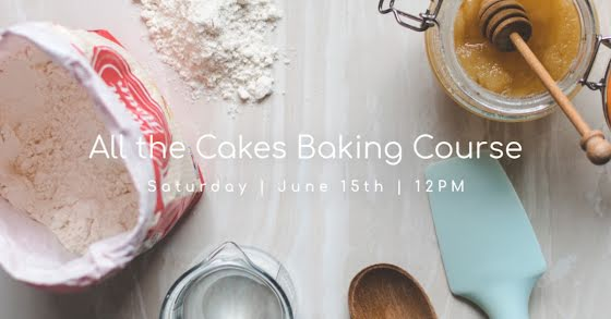 All the Cakes Baking Course - Facebook Event Cover Template