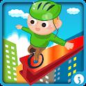 Pedal Panic: Sky Dash Run icon