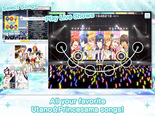 Utanou2606Princesama: Shining Live 1.11.0 screenshots 13