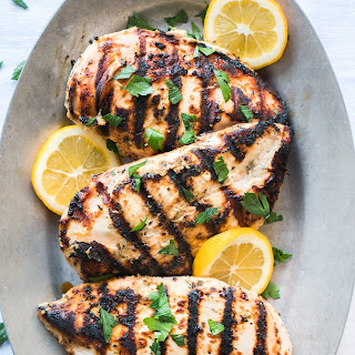 Yogurt Marinated Greek Chicken
