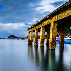 PPI Harbor by Sonny Saban - Landscapes Waterscapes ( rote, harbor, indonesia, sunsets, beach )