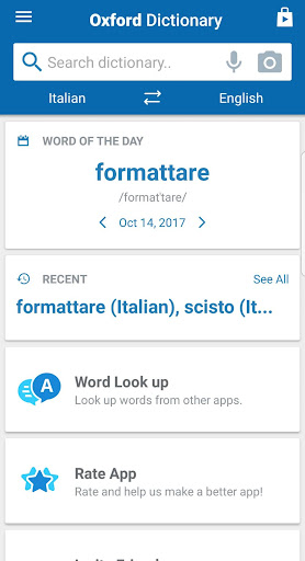 Oxford Italian Dictionary  screenshots 7