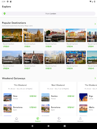 Wego Flights, Hotels, Travel Deals Booking App 6.0.7 Screenshots 10