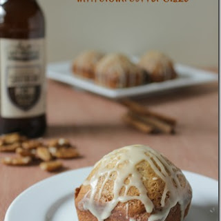 Banana Nut Bread and Brown Butter Glaze with Brown Ale