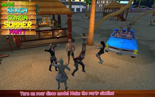 マイアミビーチコーチの夏のパーティー|玩模擬App免費|玩APPs