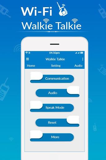 WiFi Walkie Talkie - Two Way Walkie Talkie cheat hacks