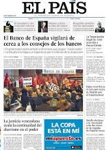 Photo: El Banco de España vigilará de cerca a los consejos de los bancos, la justicia venezolana avala la continuidad del chavismo en el poder, y arranca entre protestas la negociación del ERE de Bankia, en la portada de EL PAÍS, edición nacional, del jueves 10 de enero de 2013 http://cort.as/38jU