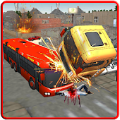 Demolition Angry Bus 3D