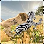 Wild Lion Safari Simulator 3D Icon
