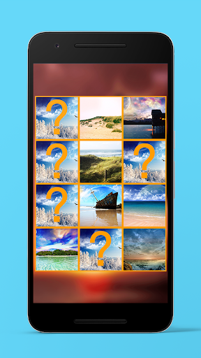 3D Landscape Theme Memory Game