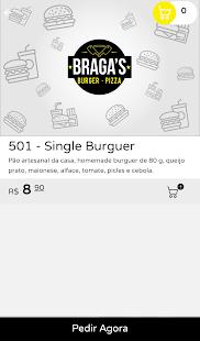 Braga's Burger Pizza - náhled