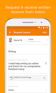 Chegg Tutors: Online Tutoring- screenshot thumbnail