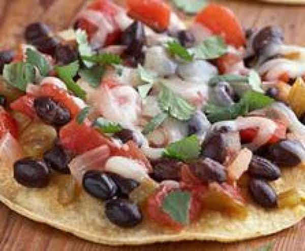 Salsa, Bean, And Cheese Pizza- Low Fat Recipe