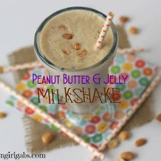 Peanut Butter & Jelly Milkshake.