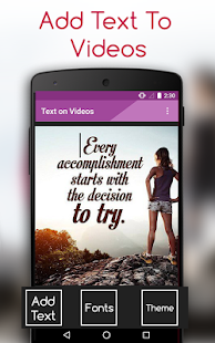 Text on videos-video editor & maker frame by frame - náhled