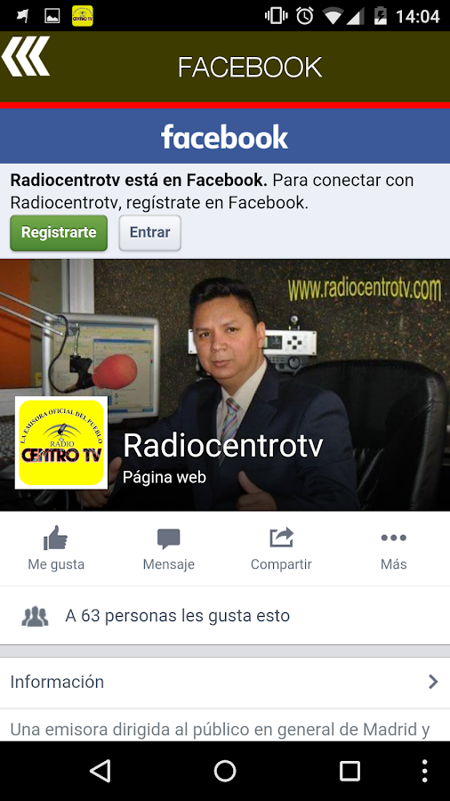 Radio Centro TV- screenshot