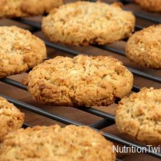 Skinny, Speedy Walnut Oatmeal Cookies Recipe