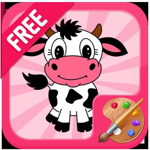 Cow Coloring 教育 App LOGO-硬是要APP