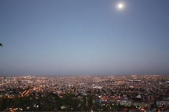 Photo: The city lights up.