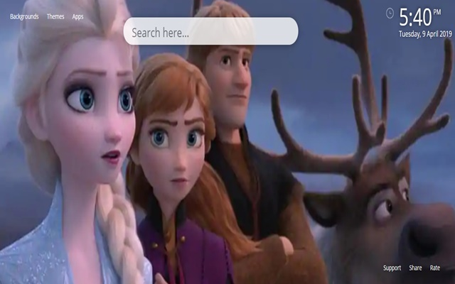 Frozen Fairy Tale Wallpaper