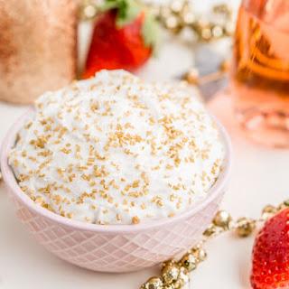 3-Ingredient Champagne Cake Dip Recipe