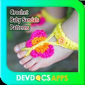 Crochet Baby Sandals Patterns