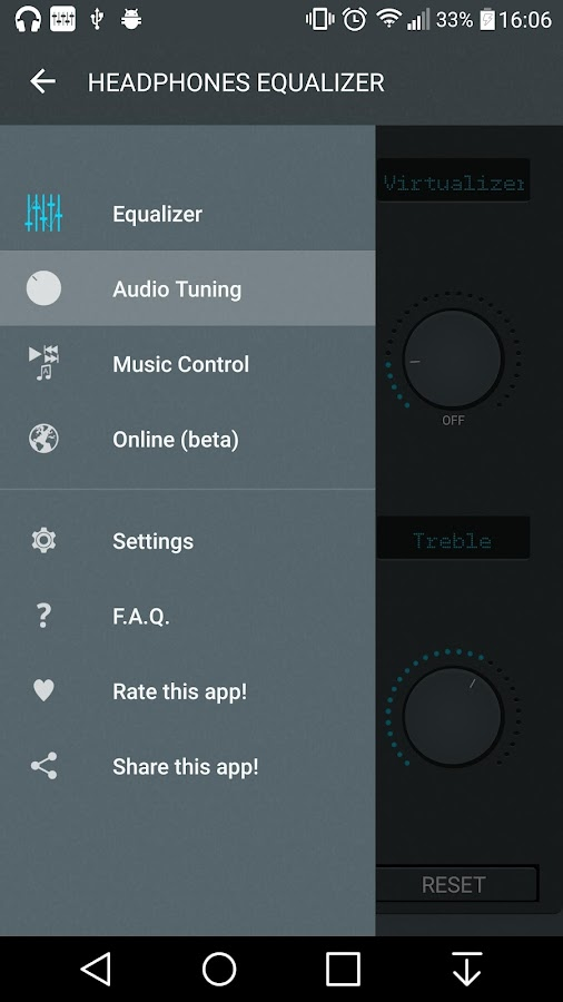 how to use audio equalizer