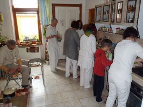 Photo: Příprava dāny - preparation the dāna