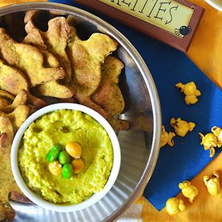 Homemade Nori Crackers With Wasabi Edamame Hummus [Vegan]