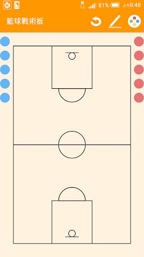 簡易籃球戰術版