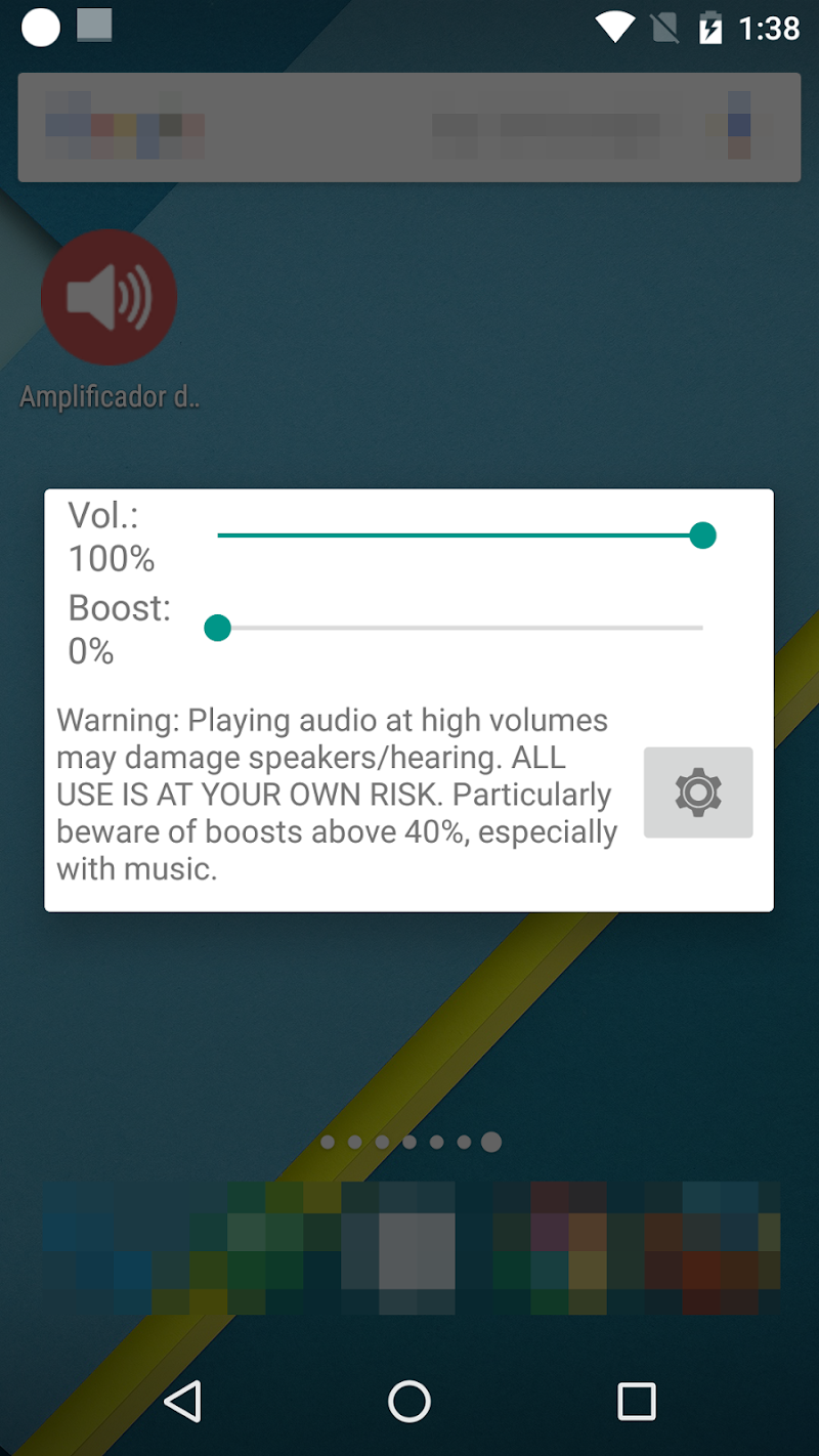 Volume Booster GOODEV Screenshot