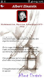Citations de Albert Einstein APK screenshot thumbnail 2