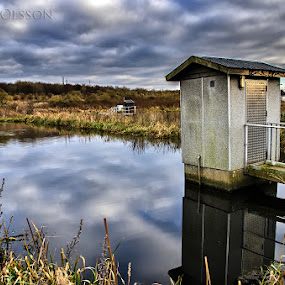 Water Treatment Plant by Björn Olsson - Landscapes Waterscapes ( water, sweden )