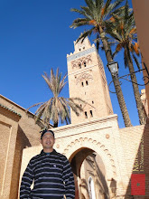 Photo: at the Koutoubia Mosque