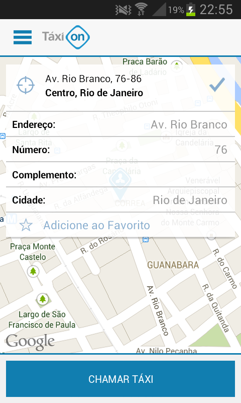 Coopnorte Taxi- screenshot
