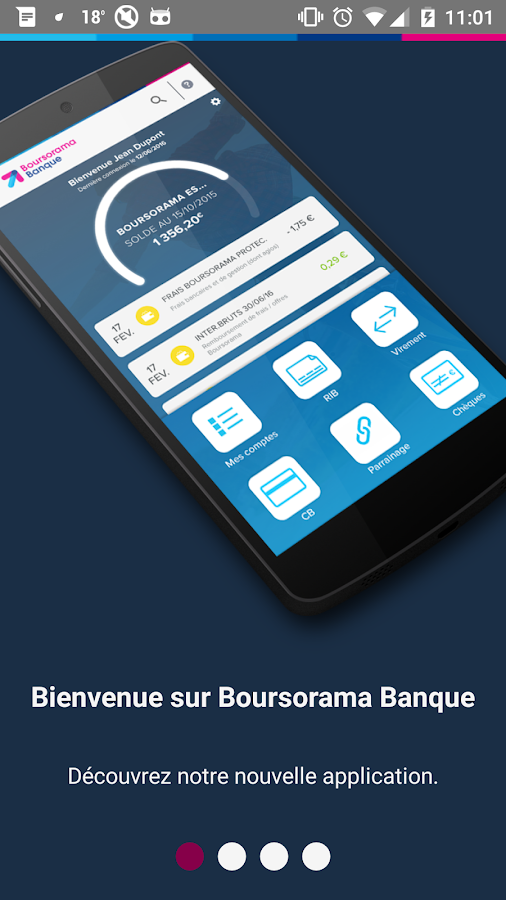 Boursorama Banque- screenshot