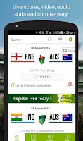 Screenshot of Cricket Australia Live