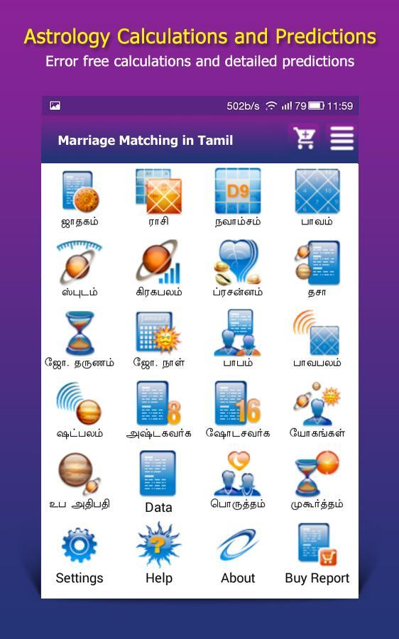 free marriage match making astrology
