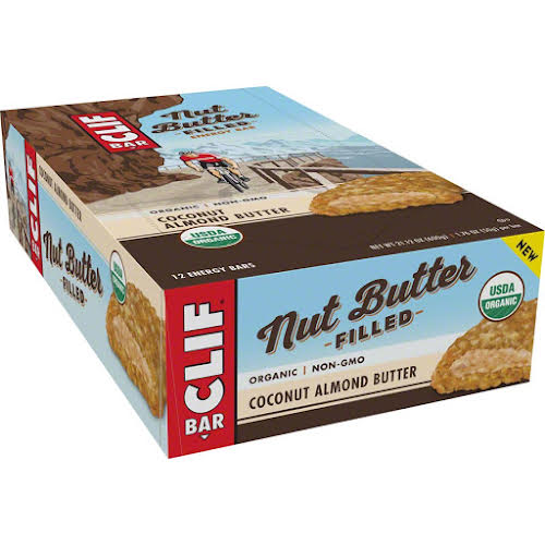 Clif Bar Nut Butter Filled: Coconut Almond Butter Box of 12