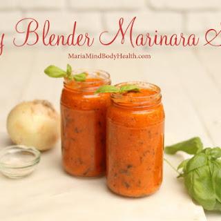 Easy Blender Marinara Sauce Recipe