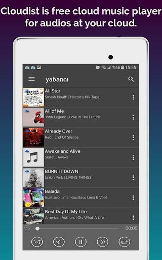 Cloudist - Free Cloud Music Player 8.4 screenshots 11