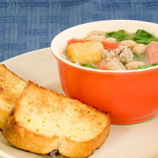 Lean Chicken, Veggie, And Bean Soup