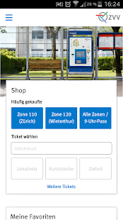 ZVV-Tickets- screenshot thumbnail