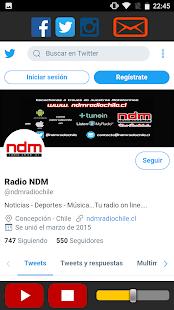NDM Radio Chile - náhled