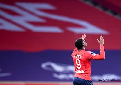 Avec un doublé de Jonathan David, Lille reprend la tête de Ligue 1