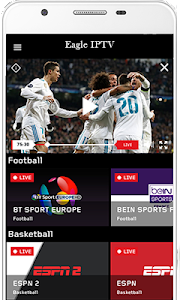 Download Free Eagle IPTV APK latest version app for android